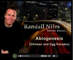 Abiogenesis - Watch this short video clip