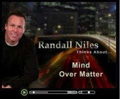 Mind Over Matter - Watch this short video clip